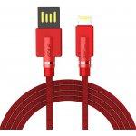 Кабель GOLF GC-54I Lightning cable 1m Red