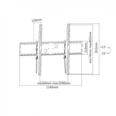 Кронштейн ITECHmount PLB-120