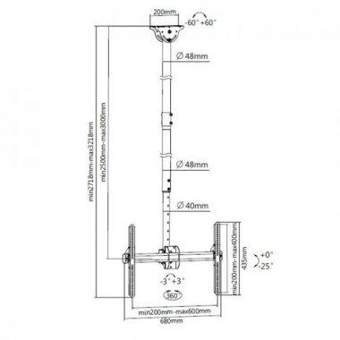 Кронштейн ITECHmount Celb-54XL
