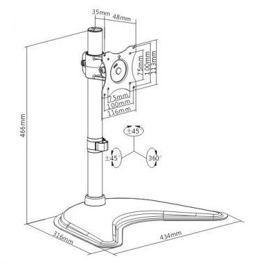 Кронштейн ITECHmount MBS-01M