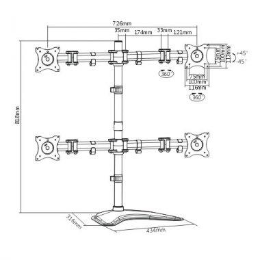 Кронштейн ITECHmount MBS-22M