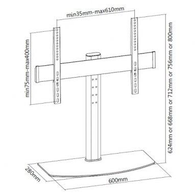 Кронштейн ITECHmount KFS-2