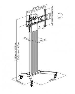 Стойка iTechmount T1026