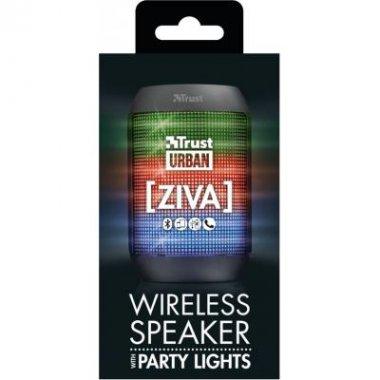 Акустическая система Trust Ziva Wireless Bluetooth Speaker with party lights (21967)