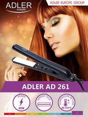 Вирівнювач для волосся Adler AD 261