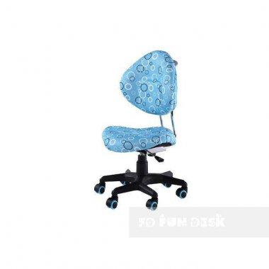 Комплект растущая парта Lavoro L Blue + детское ортопедическое кресло SST5 FunDesk