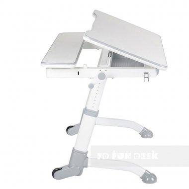 Комплект растущая парта Volare Grey + детский компьютерный стул LST2 FunDesk