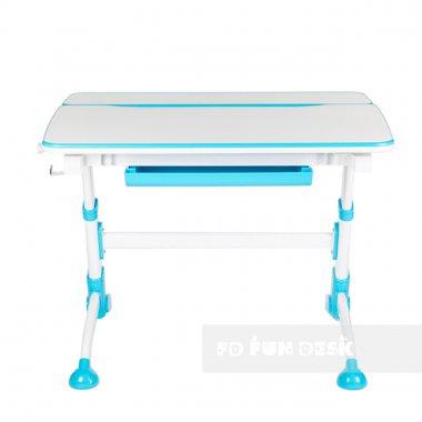 Комплект растущая парта Volare Blue + детское ортопедическое кресло SST9 FunDesk