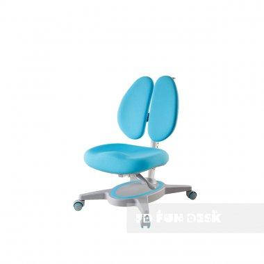 Регулируемая парта FunDesk Volare Blue + Детское ортопедическое кресло Primavera II