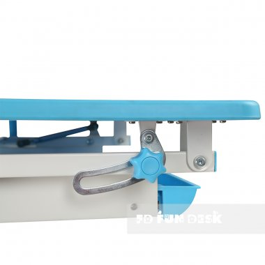 Комплект растущая парта Lavoro L Blue + детское ортопедическое кресло SST4 FunDesk