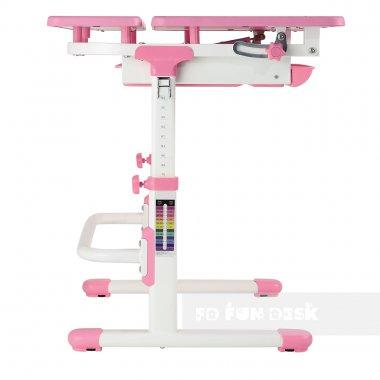 Комплект растущая парта Lavoro L Pink + детское ортопедическое кресло SST4 FunDesk
