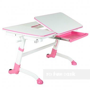 amarepink buono dlya fundesk komplekt kreslo ortopedicheskoe parta pink plus podrostkovaya shkoly