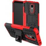 Чехол-накладка TOTO Dazzle kickstand 2 in 1 phone case Xiaomi Redmi Note 5 Red