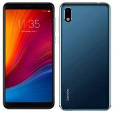 Lenovo A5s 2/16GB Blue (Global) front and back