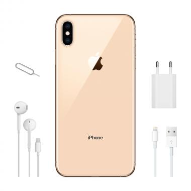 Смартфон Apple iPhone XS Max Dual Sim 256GB Gold (MT762) 3