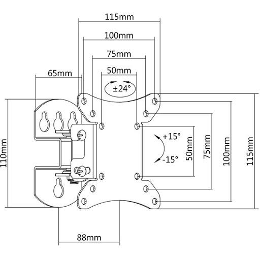 Кронштейн iTech LCD310