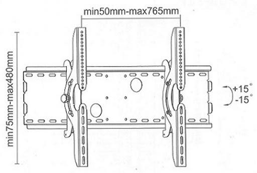 Кронштейн ITECHmount PLB-2B