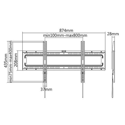 Кронштейн ITECHmount PLB-80