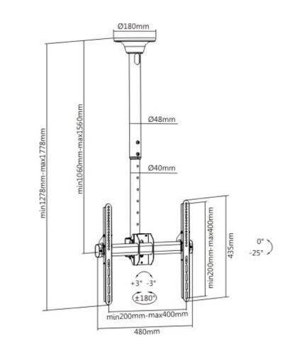 Кронштейн ITECHmount Celb-54L