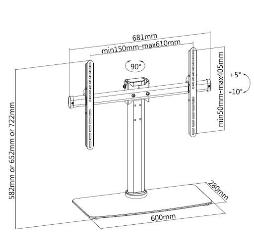Кронштейн ITECHmount KFG-3