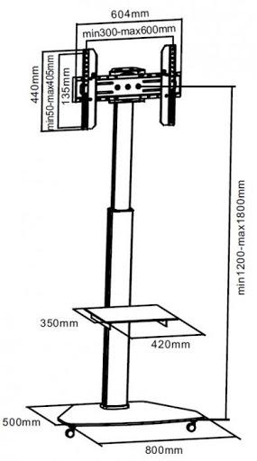 Тумба iTechmount FS01G