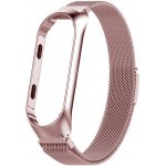 Ремешок UWatch Milanese Magnetic Strap For Mi Band 3/4 Rose Gold
