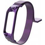 Ремешок UWatch Milanese Magnetic Strap For Mi Band 3/4 Purple