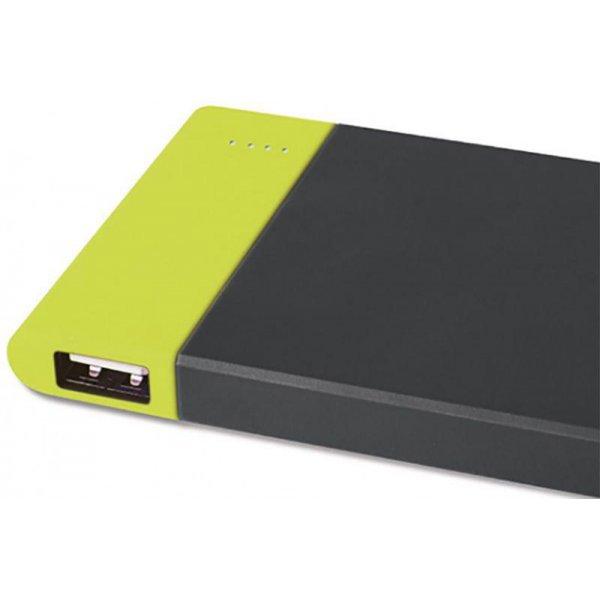 Портативна батарея Rock Space P3 power bank 6000mAh Green