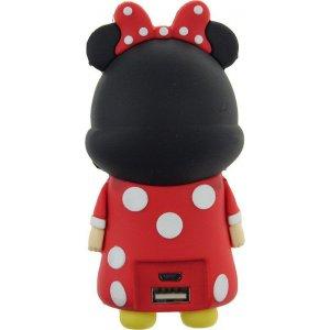 Портативная батарея TOTO TBHQ-90 Power Bank 5200 mAh Emoji Minnie Mouse