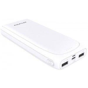 Портативна батарея AWEI P66K Power Bank 20000mAh Li-Polimer White