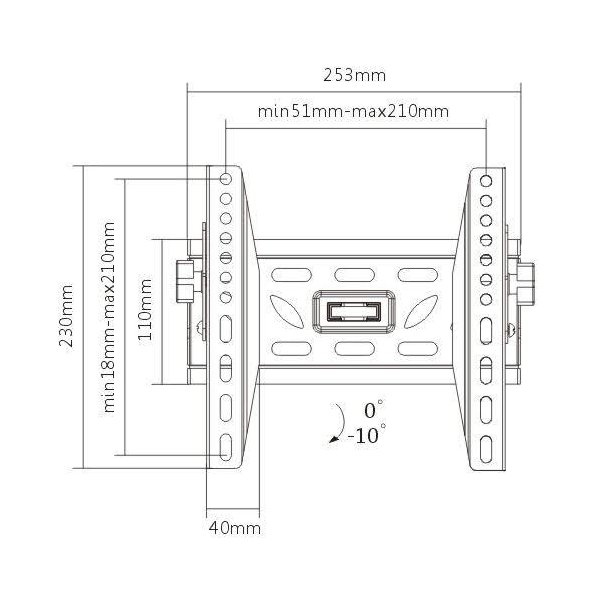 Кронштейн iTech PM2T