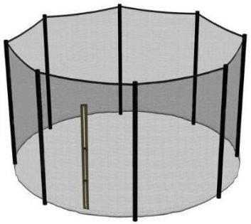 Внешняя защитная сетка к батуту 183 см (высота 150 см)