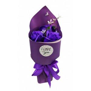 Аксессуары для праздника MK 3317 цветы,букет (MK 3317(Violet))