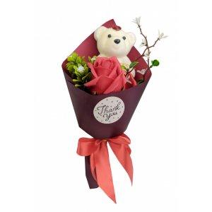 Аксессуары для праздника MK 3323 цветы,букет (MK 3323(Red))