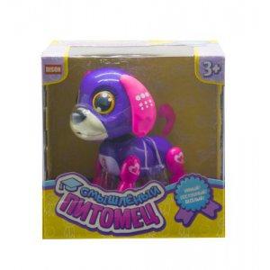 """Интерактивная игрушка """"Смышлённый питомец: щенок"""" (фиолетовый)"""