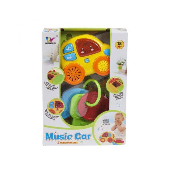 Музыкальная машинка с ключиками