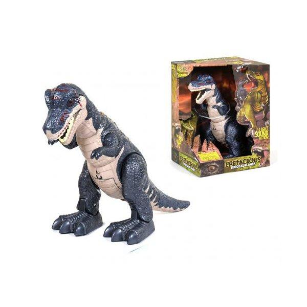 """Интерактивный динозавр """"Cretaceous"""" (тёмно-синий)"""