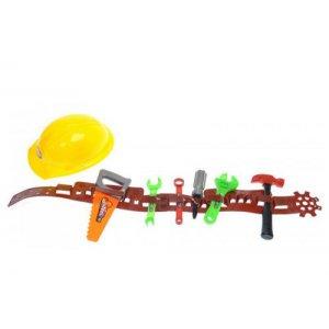 Набор инструментов на поясе, с каской
