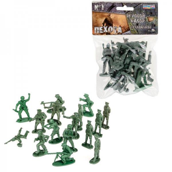 """Детский набор солдатиков """"Пехота"""" №1 1-040"""