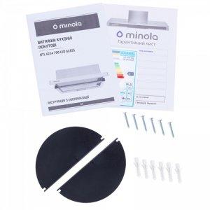 Вытяжка Minola HTL 6234 BL 700 LED GLASS
