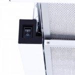 Вытяжка Minola HTL 6734 WH 1100 LED GLASS