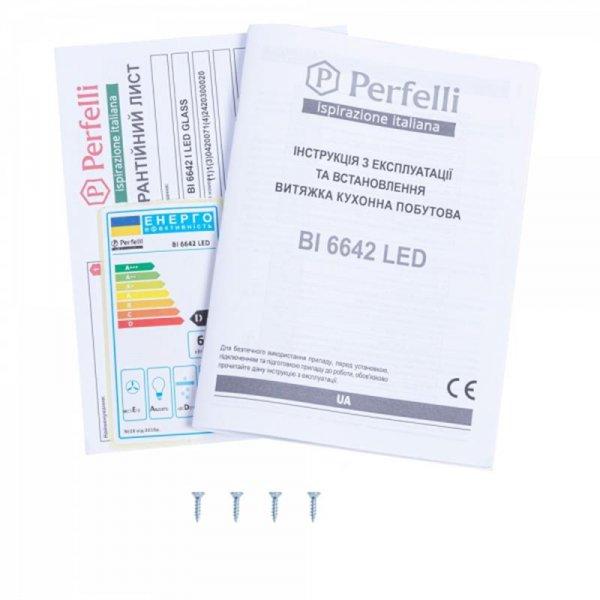 Вытяжка Perfelli BI 6642 I LED