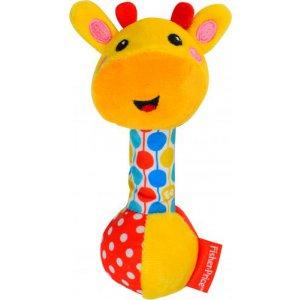 Погремушка мягкая Жирафчик
