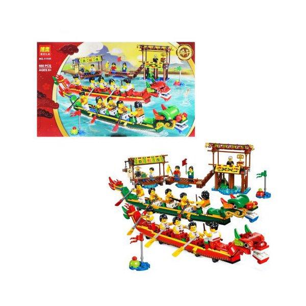 """Конструктор """"Dragon: гонки на лодках"""" 660 деталей"""