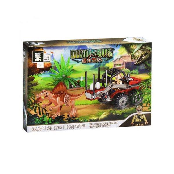 """Конструктор """"Minecraft. Динозавры: Спинозавр"""", 119 дет"""