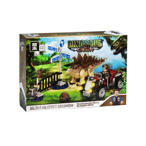 """Конструктор """"Minecraft. Динозавры: Стегозавр"""", 121 дет"""