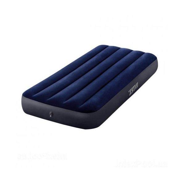 Матрас надувной велюровый,76х25х191 см