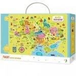 """Пазл DoDo """"Карта Украины"""" 300109"""