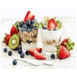 """Картина по номерам. Brushme """"Мюсли с йогуртом"""" GX25019"""