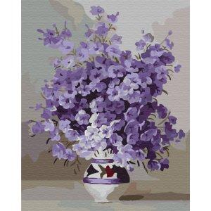 "Картина по номерам. Brushme ""Фиолетовое цветение"" GX7332"